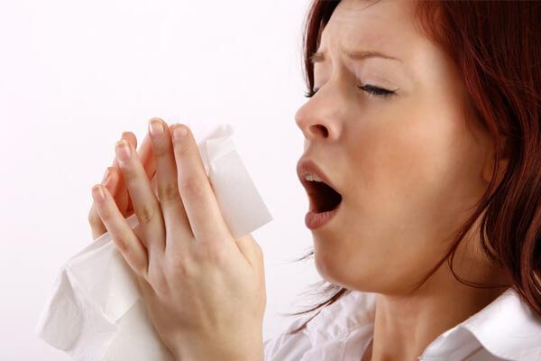 нос заложен при аллергии