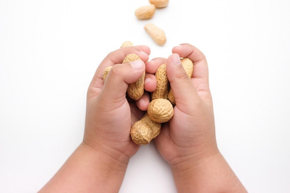 Аллергия на арахис у детей фото